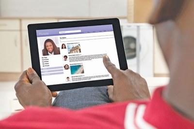 L'utilisation de l'internet à domicile