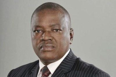 President of Botswana, Mokgweetsi Masisi.