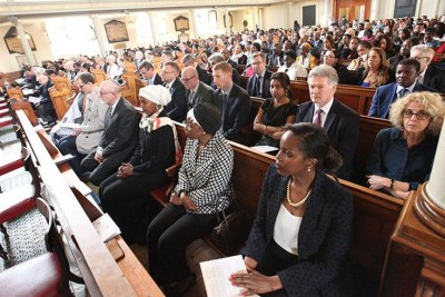 Guests at the Genocide commemoration event (file photo).