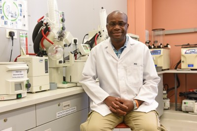 Professor Kelly Chibale, founder and director of Africa's first integrated drug discovery and development centre, H3D at the University of Cape Town.