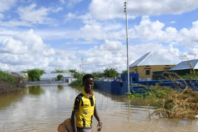 Floods in Somalia (file photo).