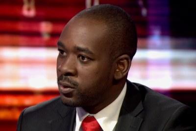 Zimbabwean opposition leader Nelson Chamisa on BBC HARDtalk.