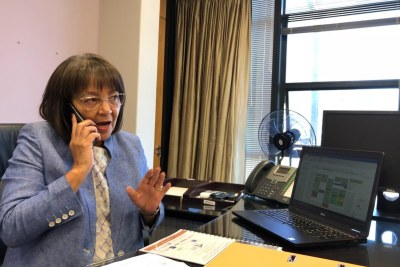 Mayor of Cape Town Patricia de Lille is back at work after a court ruling in her favour.