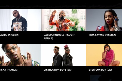 BET nominees.