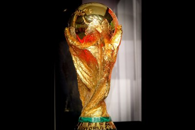 World Cup trophy (file photo).