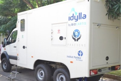 L'Institut Pasteur de Dakar se dote d'un laboratoire mobile pour rapprocher le laboratoire de référence des zones d'épidémies.