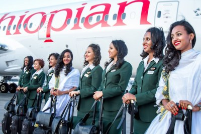Ethiopian Airlines launches first flight with an all-female crew (file photo).