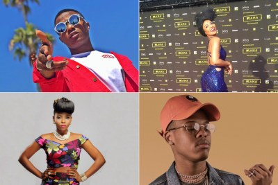 Wizkid, Nomzamo, Yemi Alade and Nasty C.