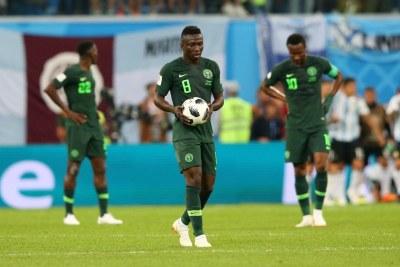 Nigeria vs Argentine