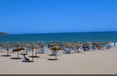 Une plage en Afrique du Nord