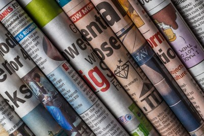 Newspaper, press, media.