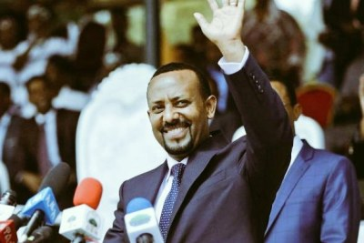 Prime Minister Abiy Ahmed.