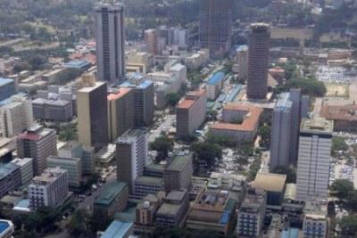 A view of Nairobi.