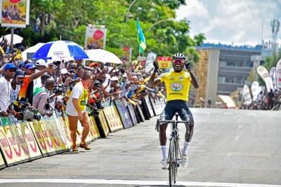 Samuel Mugisha, Vainqueur du Tour du Rwanda 2018
