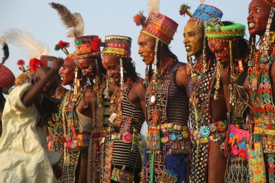 Wodaabe men.