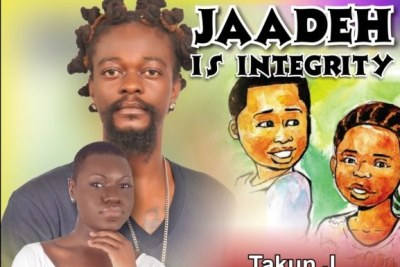 """Jaadeh Is Integrity"", a song written and produced by Liberia's premier Hip-Co musician Takun J and featuring vocalist Ella Mankon Pailey"