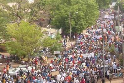 Marche de contestation