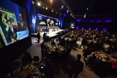 Le président Alpha Condé, Invité d'honneur des MEDays 2017