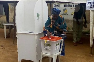 Voting taking place in Oshogbo - Osun State