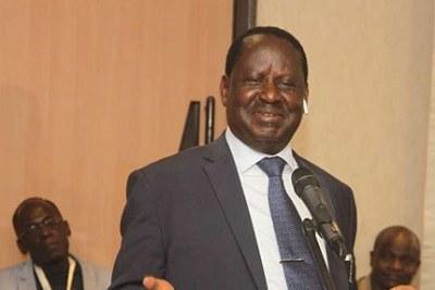 (Image d'archives) - Le leader de ODM, Raila Odinga.
