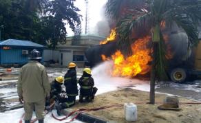 Many Cars Burnt In Lagos Tanker Fire