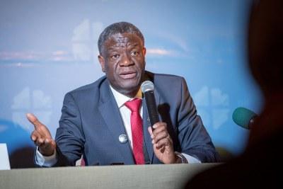 Dr Denis Mukwege.