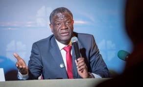 Le Dr Mukwege appelle à la création d'un fonds mondial pour les victimes
