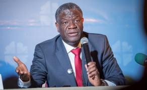 DR Congo's Doctor Mukwege Wins Nobel Peace Prize for Noble Work