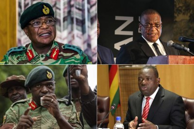 VP Constantino Chiwenga and Minister Sibusiso Moyo were both army Generals before the military takeover that led to former president Robert Mugabe's resignation.