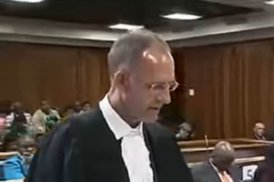 Advocate Peter Daubermann, defence counsel for rape accused Timothy Omotoso.