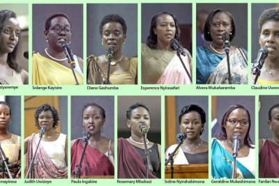 The women in Paul Kagame's new Cabinet.