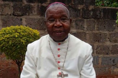 Retired Catholic Archbishop Emeritus John Njenga (file photo).