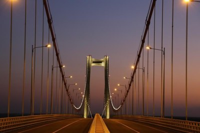 Africa's longest suspension bridge opens to traffic in Mozambique