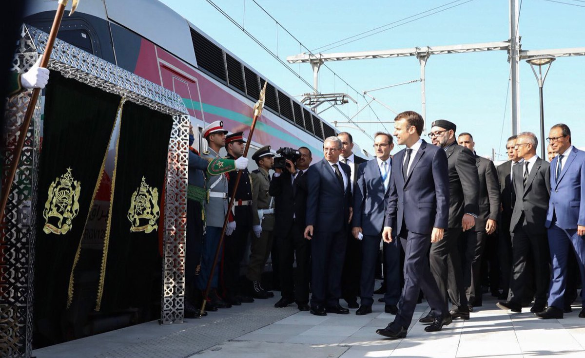 Image result for morocco language africa first high speed train