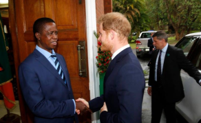 Royal Support for Zambia's Dwindling Elephant Population