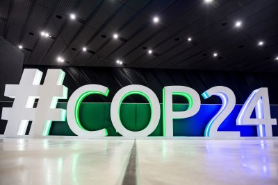 The COP24 climate talks.