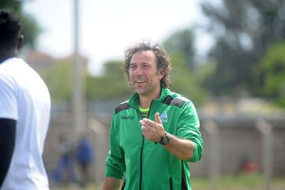Gor Mahia coach Hassan Oktay