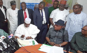 Nigerian Presidential Candidate Atiku Signs Peace Accord