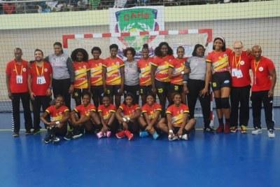 Handball (D): l'Angola champion d'Afrique !