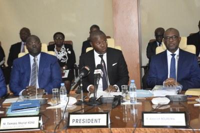 Conseil des Ministre de l'UEMOA, le Vendredi 21 Décembre 2018 au siège de la BCEAO à Dakar