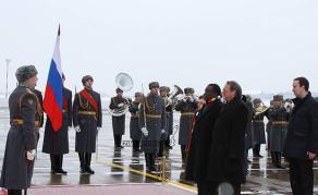 Zimbabwean President Starts Five-Country European Tour