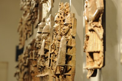 90% of Africa's cultural heritage currently lies outside the continent, including the Benin Bronzes in the British Museum.