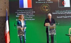 Algérie/France - Signature d'une convention sur l'extradition de criminels