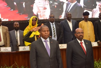 The Government of the Central African Republic and 14 armed groups inscribed their initials on the Centrafrique Peace Agreement in a ceremony in Khartoum.