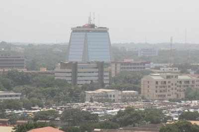 An aerial view of Accra, Ghana (File photo)
