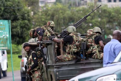 Government troops in Cameroon (file photo).