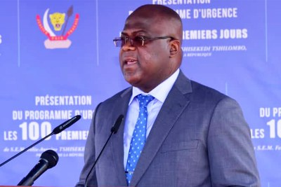 President Félix-A. Tshisekedi