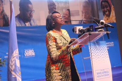 WHO Regional Director for Africa Dr Matshidiso Moeti (file photo).