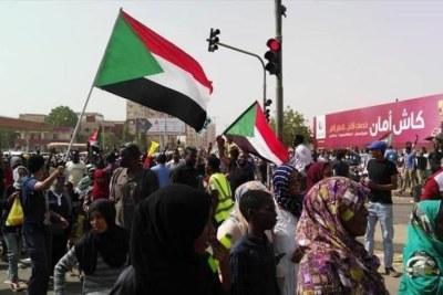 Manifestations à Khartoum