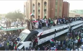 Hundreds Ride 'Freedom Train' to Sudan's Capital